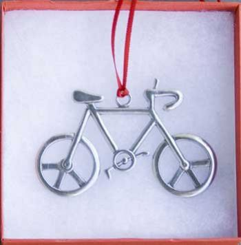 Bicycle Ornament Peace Bike