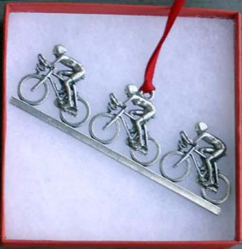 Bicycle Ornament Paceline
